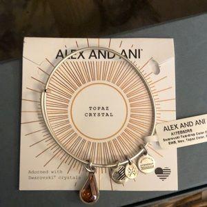 Alex and Ani Expandable Wire Bangle
